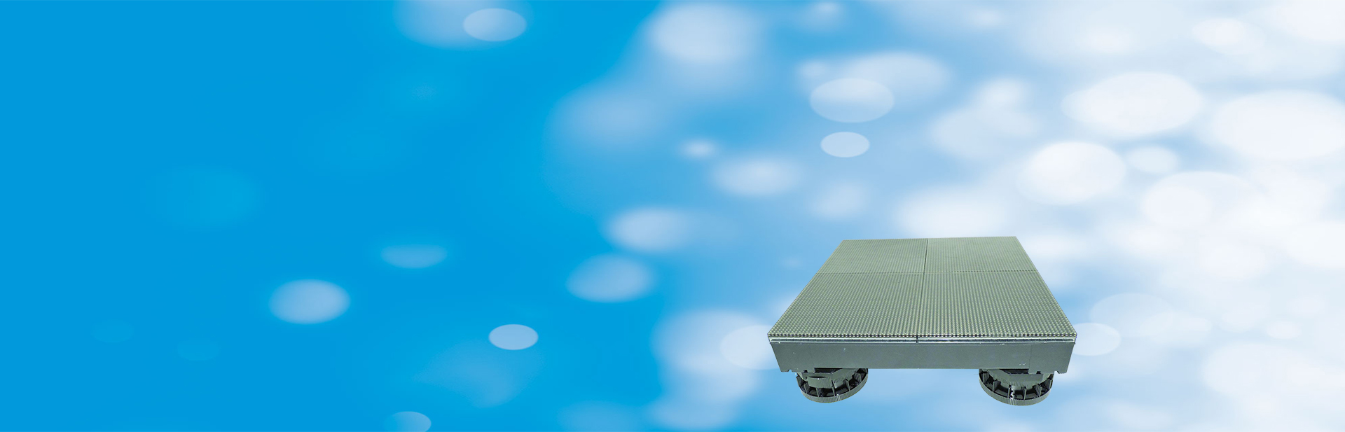 SHENZEN UNIVIEW 6.8MM LED FLOOR TILE
