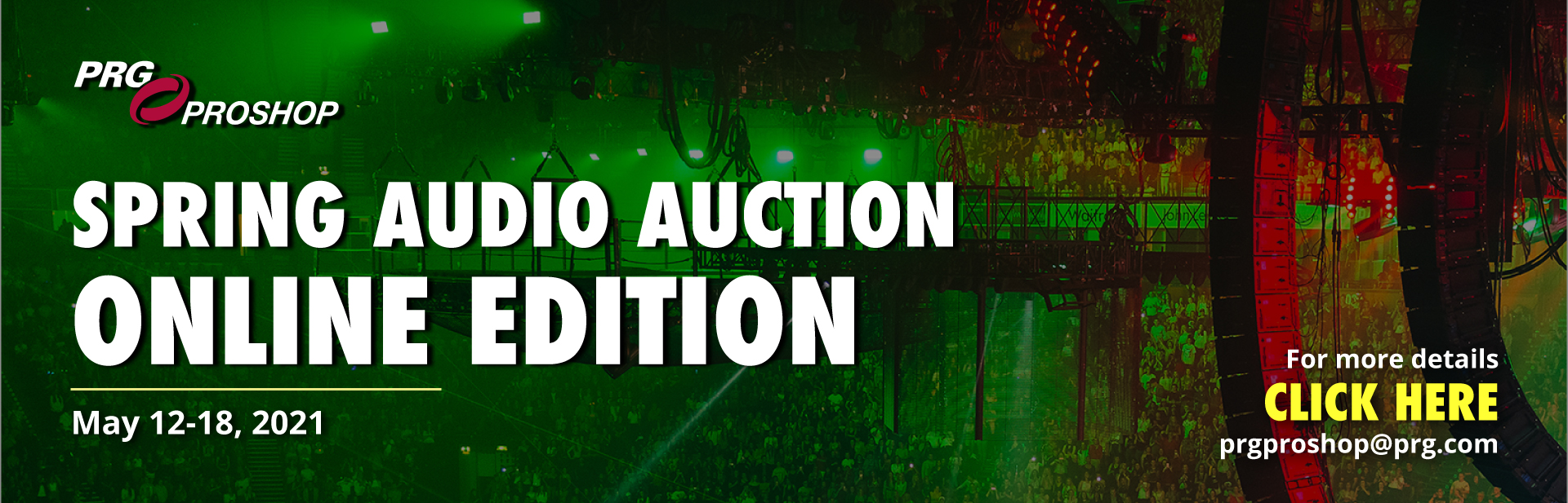 Spring Audio Auction - May 2021