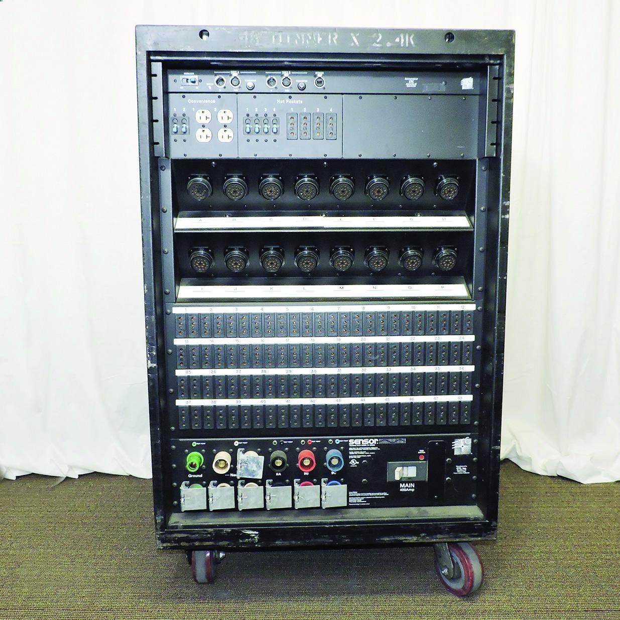 PRG Proshop - ETC Sensor 3 Dimmer Rack 48 x 2 4K - 400 Amp 4 Patch