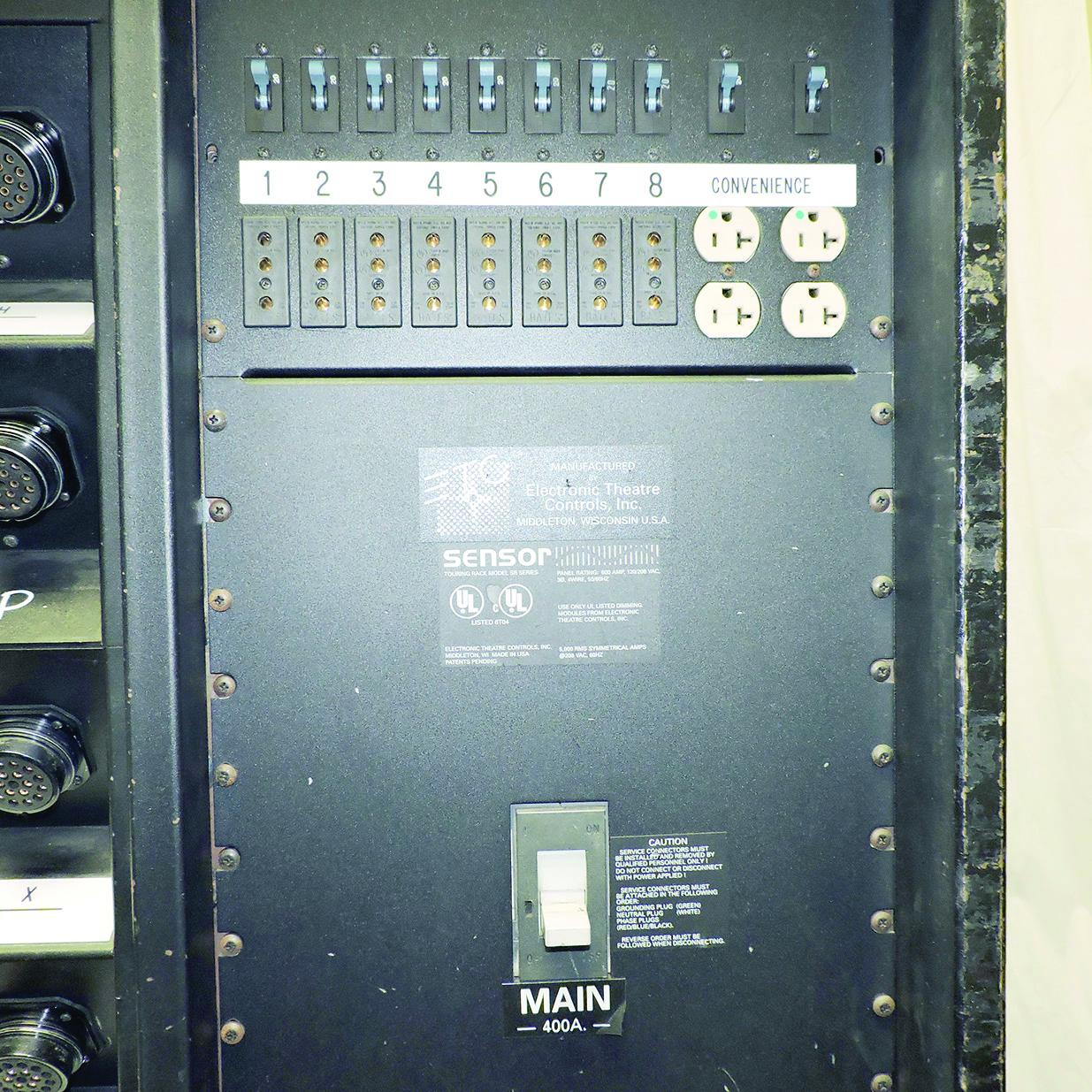 PRG Proshop - ETC Sensor-3 Dimmer Touring Rack 96 x 2 4K 400 amp 2 patch