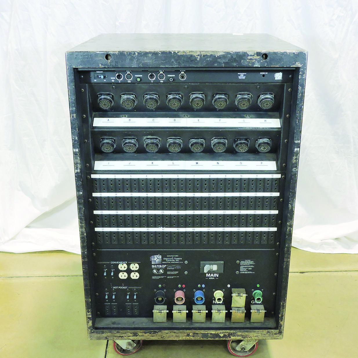 PRG Proshop - ETC Sensor 3 Dimmer Rack 48 x 2 4K - 400A 2 Patch