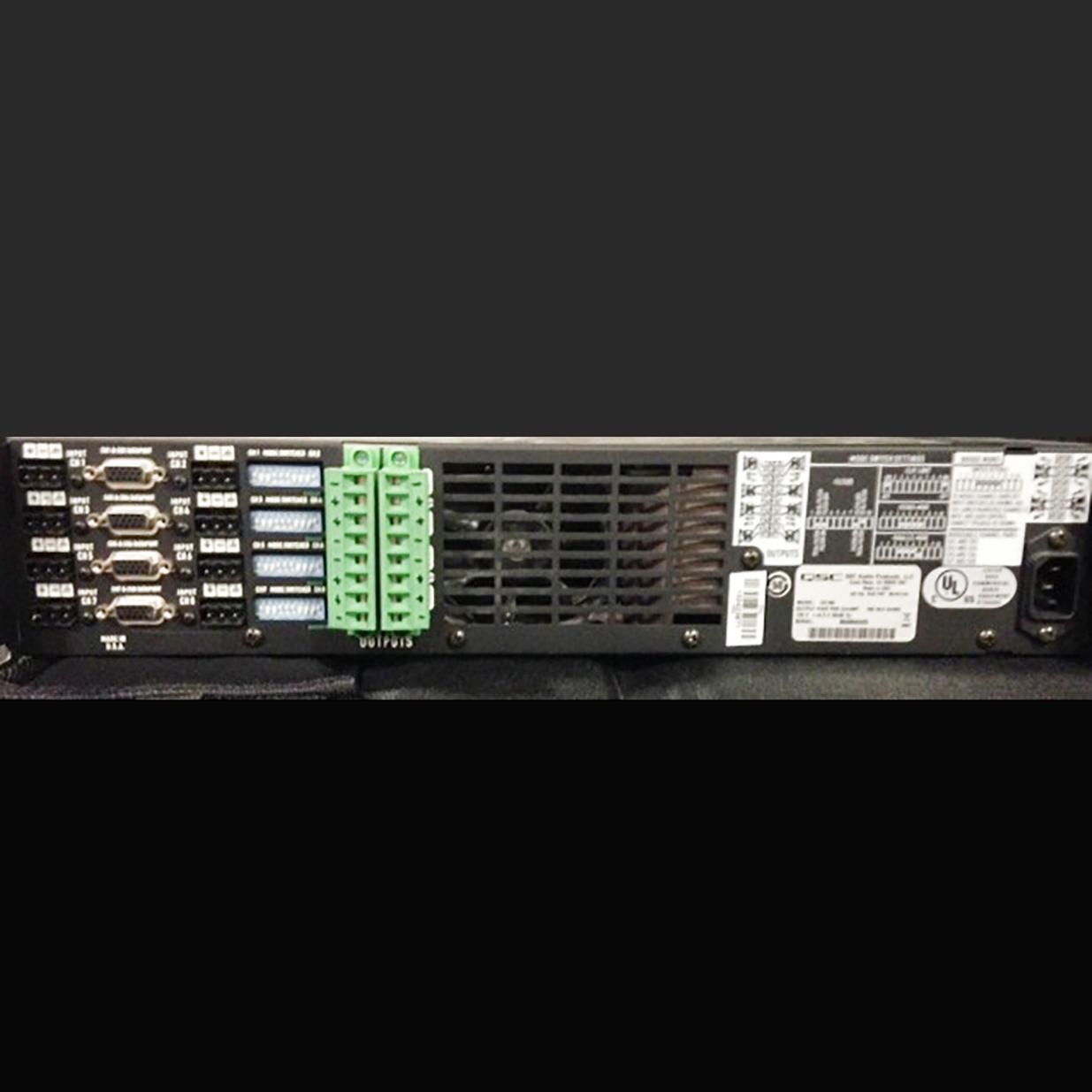 Prg Proshop Qsc Audio Cx168 Power Amplifier 8 Channel Amplifiers