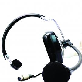 Clear-Com Single Ear Headset with Microphone XLR4F