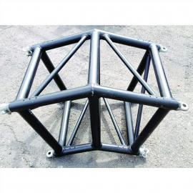 "Total Structures Truss Corner 20"" x 20"" Spigot Black"
