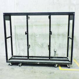 PRG Scenic Technologies 6 Par Bar Cart