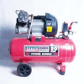 Sealey Compressor 50ltr V-Twin Direct Drive 3hp