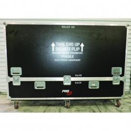 "M.T. Custom Cases Roadcase for Sharp Aquos 80"" Video Monitor"