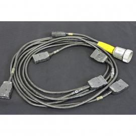 Lex Products Soca 19 Male pin Cable B/O to 6 Stag 20A 2P&G