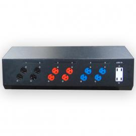 INDU L21-30 In Edison/USB Tabletop Power Distro