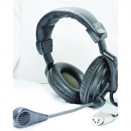 Technical Projects DMH-320 Double Headset with Microphone XLR4F