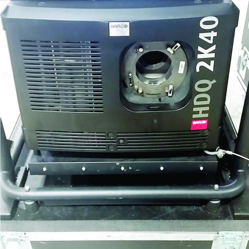 BARCO HDQ-2K40 (40K) PROJECTOR