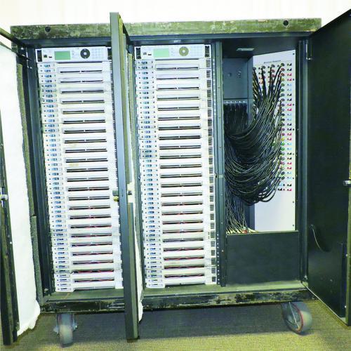 ETC Sensor-3 Dimmer Touring Rack 96 x 2.4K 400 amp 2 patch