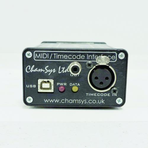 Chamsys Ltd. MagicQ USB MIDI and Timecode Interface