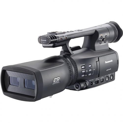 Panasonic AG-3DA1E Integrated Twin-Lens 3D Camcorder