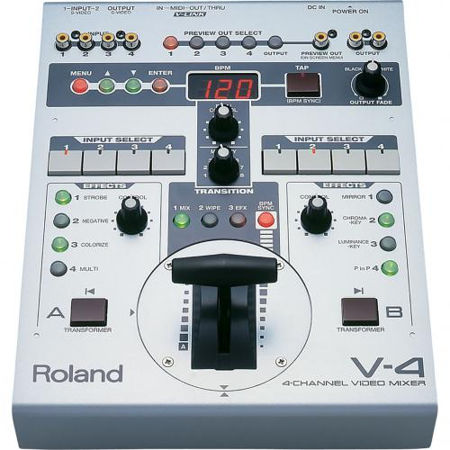 Roland V4 Video Mixer with Effects