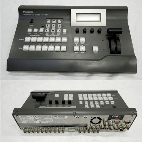 Panasonic Video Mixer HS300 (6SDI+1DVI to 2 SDI)