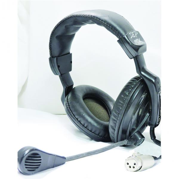 Technical Projects DMH-310 Double Headset with Microphone XLR4F