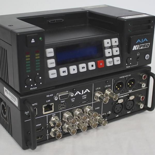 AJA Ki-PRO Portable File Recorder Base HDD/SSD