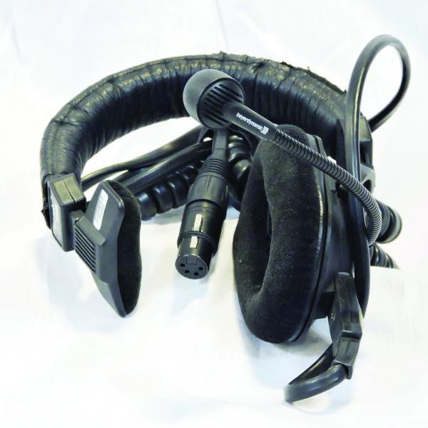 Beyerdynamic DT 280 XLR4F Single Muff Headset