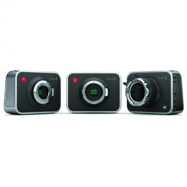 BlackMagic Cinema 4K Camera (EF Mount)