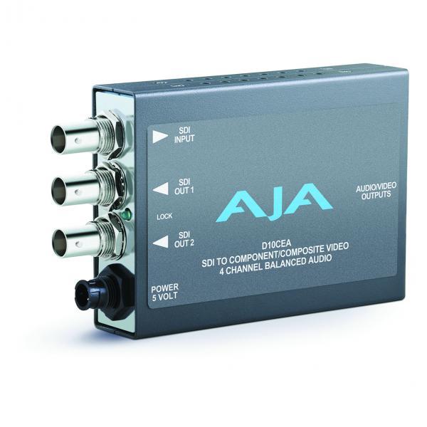 AJA D10CEA SDI to Analog Audio/Video Converter