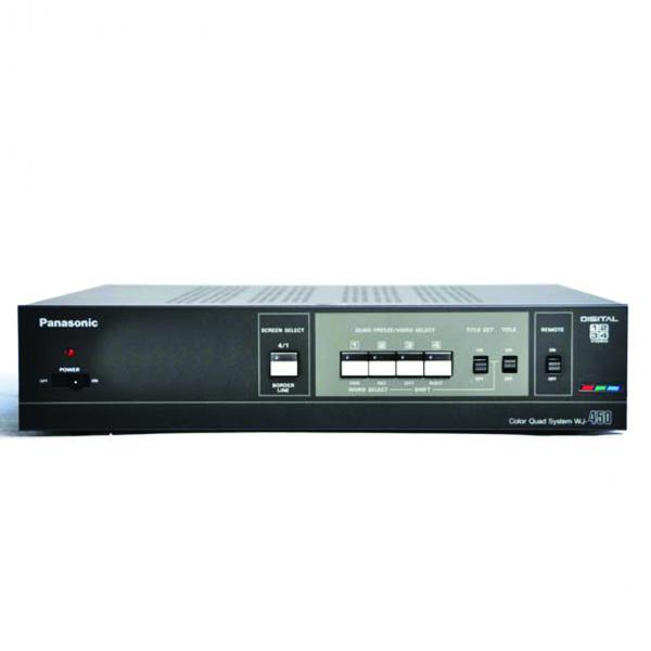 Panasonic WJ-450 Quad Splitter