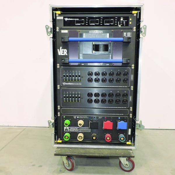 Motion Labs 208v Power Distro Socapex19 - 20A x 36 & Edison 20A x 18