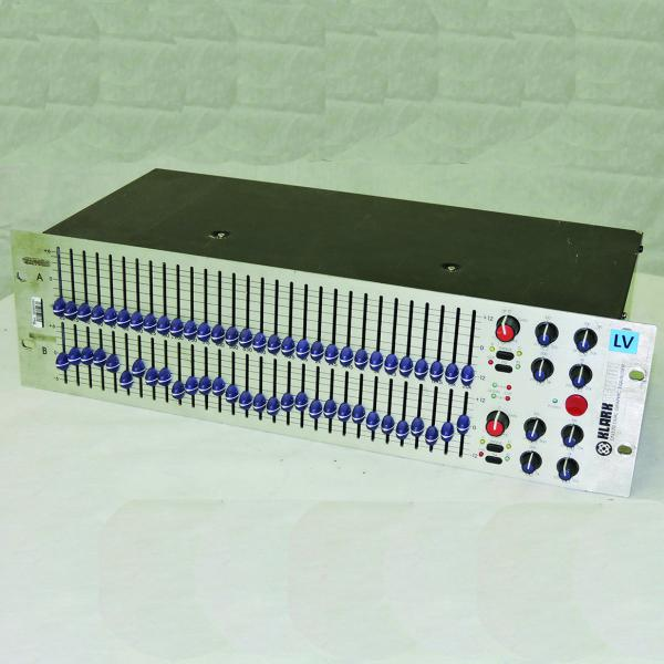 Klark Teknik DN370B Dual Channel Graphic Equalizer