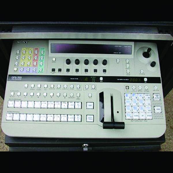 Sony DFS-700 Control Panel