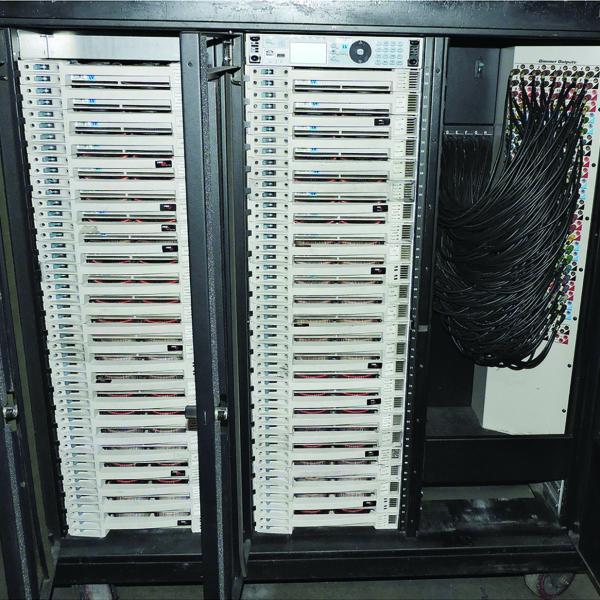 ETC Sensor-3 Dimmer Touring Rack 96 x 2.4K 600 amp 4 patch