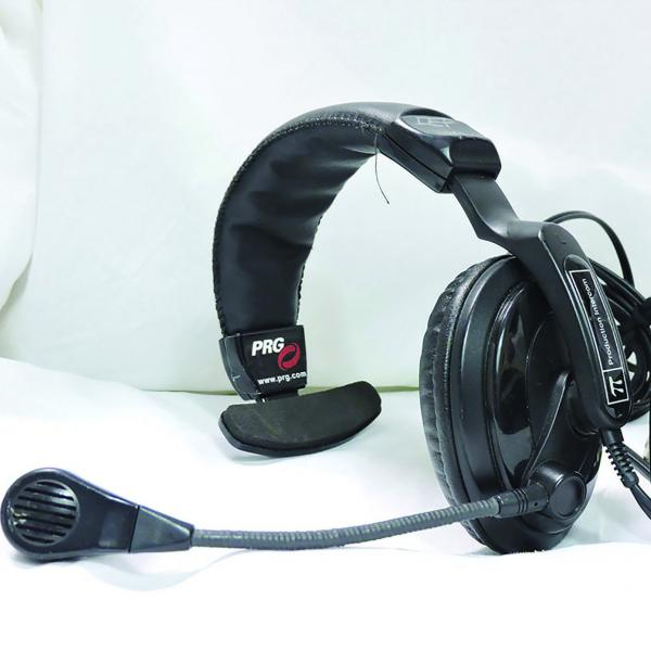 Technical Projects SMH-310 Single Headset with Microphone XLR4F