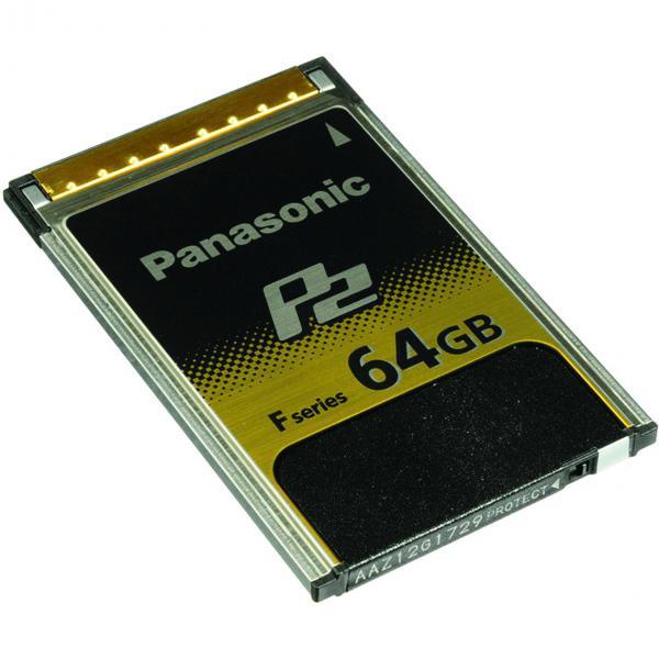 Panasonic AJ-P2E064FG F-Series 64GB P2 Memory Card